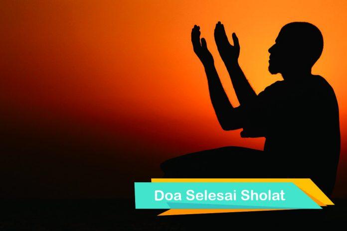 doa selepas sholat